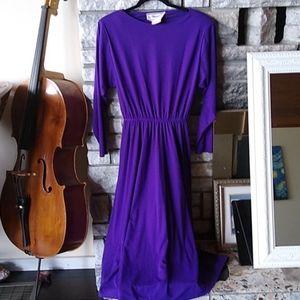 🇨🇦 Vintage purple dress 💜